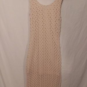 Forever 21 crochet lace maxi dress small